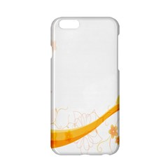 Flower Floral Yellow Sunflower Star Leaf Line Apple Iphone 6/6s Hardshell Case by Mariart