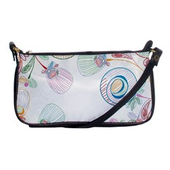 Flower Rainbow Circle Polka Leaf Sexy Shoulder Clutch Bags by Mariart