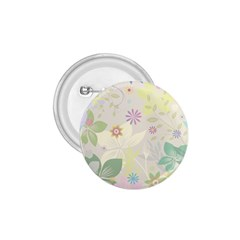 Flower Rainbow Star Floral Sexy Purple Green Yellow White Rose 1 75  Buttons by Mariart