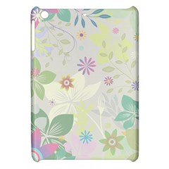 Flower Rainbow Star Floral Sexy Purple Green Yellow White Rose Apple Ipad Mini Hardshell Case by Mariart