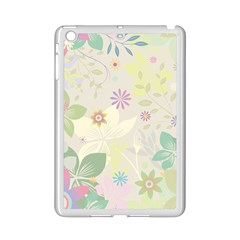 Flower Rainbow Star Floral Sexy Purple Green Yellow White Rose Ipad Mini 2 Enamel Coated Cases by Mariart
