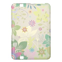 Flower Rainbow Star Floral Sexy Purple Green Yellow White Rose Kindle Fire Hd 8 9  by Mariart