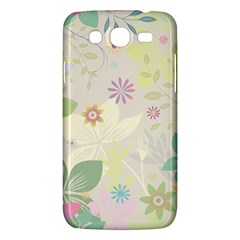 Flower Rainbow Star Floral Sexy Purple Green Yellow White Rose Samsung Galaxy Mega 5 8 I9152 Hardshell Case  by Mariart
