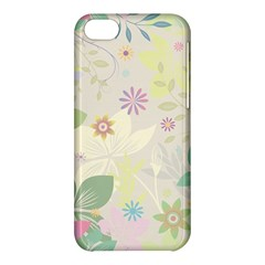 Flower Rainbow Star Floral Sexy Purple Green Yellow White Rose Apple Iphone 5c Hardshell Case by Mariart