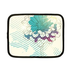 Flower Rose Purple Sunflower Lotus Netbook Case (small)  by Mariart