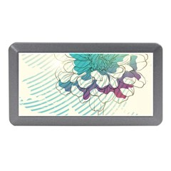 Flower Rose Purple Sunflower Lotus Memory Card Reader (mini) by Mariart