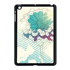 Flower Rose Purple Sunflower Lotus Apple Ipad Mini Case (black) by Mariart