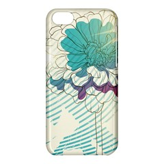 Flower Rose Purple Sunflower Lotus Apple Iphone 5c Hardshell Case by Mariart