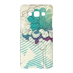 Flower Rose Purple Sunflower Lotus Samsung Galaxy A5 Hardshell Case  by Mariart