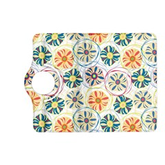 Flower Rainbow Fan Sunflower Circle Sexy Kindle Fire Hd (2013) Flip 360 Case by Mariart