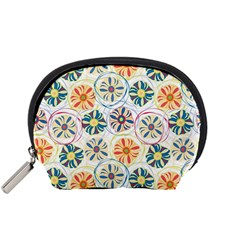Flower Rainbow Fan Sunflower Circle Sexy Accessory Pouches (small)