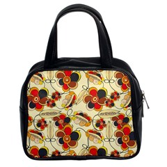 Flower Seed Rainbow Rose Classic Handbags (2 Sides) by Mariart