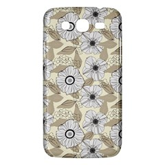 Flower Rose Sunflower Gray Star Samsung Galaxy Mega 5 8 I9152 Hardshell Case  by Mariart