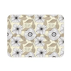 Flower Rose Sunflower Gray Star Double Sided Flano Blanket (mini)  by Mariart