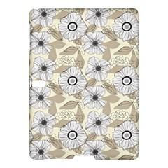 Flower Rose Sunflower Gray Star Samsung Galaxy Tab S (10 5 ) Hardshell Case  by Mariart