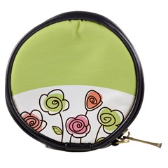 Flower Simple Green Rose Sunflower Sexy Mini Makeup Bags by Mariart