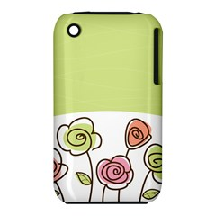 Flower Simple Green Rose Sunflower Sexy Iphone 3s/3gs by Mariart