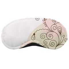 Flower Simple Pink Sleeping Masks by Mariart