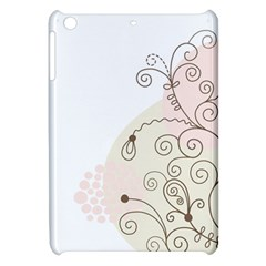 Flower Simple Pink Apple Ipad Mini Hardshell Case by Mariart