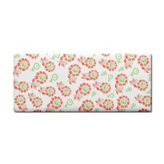 Flower Rose Red Green Sunflower Star Cosmetic Storage Cases by Mariart