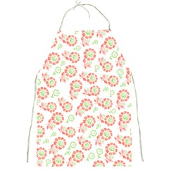 Flower Rose Red Green Sunflower Star Full Print Aprons by Mariart