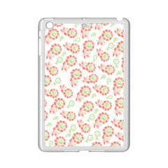 Flower Rose Red Green Sunflower Star Ipad Mini 2 Enamel Coated Cases by Mariart
