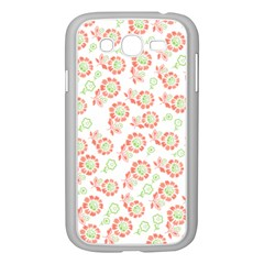 Flower Rose Red Green Sunflower Star Samsung Galaxy Grand Duos I9082 Case (white) by Mariart