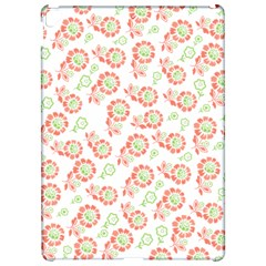 Flower Rose Red Green Sunflower Star Apple Ipad Pro 12 9   Hardshell Case by Mariart