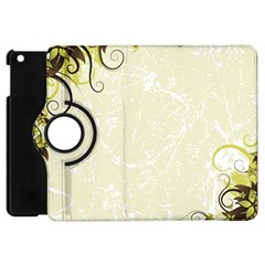 Flower Star Floral Green Camuflage Leaf Frame Apple Ipad Mini Flip 360 Case by Mariart