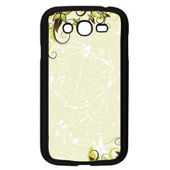 Flower Star Floral Green Camuflage Leaf Frame Samsung Galaxy Grand Duos I9082 Case (black) by Mariart