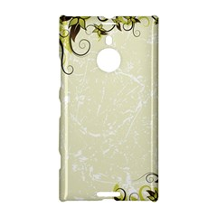 Flower Star Floral Green Camuflage Leaf Frame Nokia Lumia 1520 by Mariart