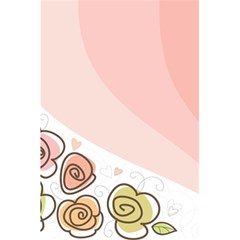 Flower Sunflower Wave Waves Pink 5 5  X 8 5  Notebooks by Mariart