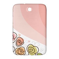 Flower Sunflower Wave Waves Pink Samsung Galaxy Note 8 0 N5100 Hardshell Case  by Mariart