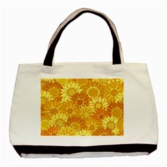 Flower Sunflower Floral Beauty Sexy Basic Tote Bag by Mariart