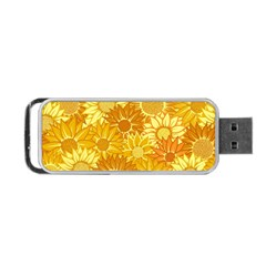 Flower Sunflower Floral Beauty Sexy Portable Usb Flash (two Sides) by Mariart