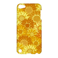 Flower Sunflower Floral Beauty Sexy Apple Ipod Touch 5 Hardshell Case by Mariart