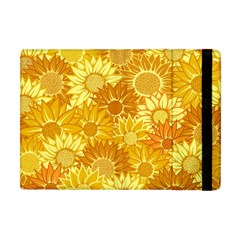 Flower Sunflower Floral Beauty Sexy Apple Ipad Mini Flip Case