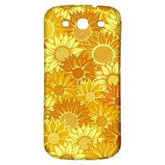 Flower Sunflower Floral Beauty Sexy Samsung Galaxy S3 S Iii Classic Hardshell Back Case by Mariart