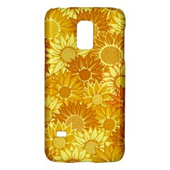 Flower Sunflower Floral Beauty Sexy Galaxy S5 Mini by Mariart