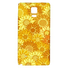 Flower Sunflower Floral Beauty Sexy Galaxy Note 4 Back Case