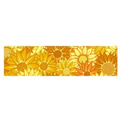 Flower Sunflower Floral Beauty Sexy Satin Scarf (oblong) by Mariart