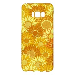 Flower Sunflower Floral Beauty Sexy Samsung Galaxy S8 Plus Hardshell Case  by Mariart