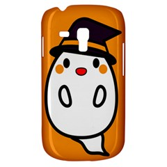 Halloween Ghost Orange Galaxy S3 Mini by Mariart