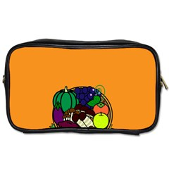 Healthy Vegetables Food Toiletries Bags by Mariart