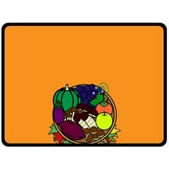 Healthy Vegetables Food Fleece Blanket (large)  by Mariart