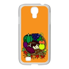 Healthy Vegetables Food Samsung Galaxy S4 I9500/ I9505 Case (white) by Mariart
