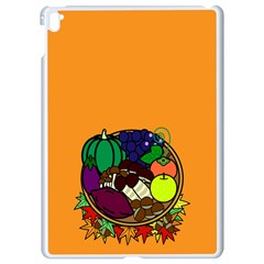 Healthy Vegetables Food Apple Ipad Pro 9 7   White Seamless Case by Mariart