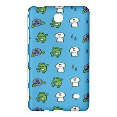 Frog Ghost Rain Flower Green Animals Samsung Galaxy Tab 4 (8 ) Hardshell Case  by Mariart