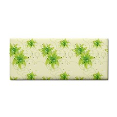 Leaf Green Star Beauty Cosmetic Storage Cases by Mariart