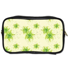 Leaf Green Star Beauty Toiletries Bags by Mariart